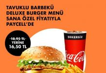 Paycell Burger King Kampanya
